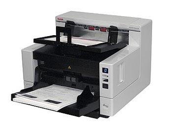 Промышленный протяжной сканер документов