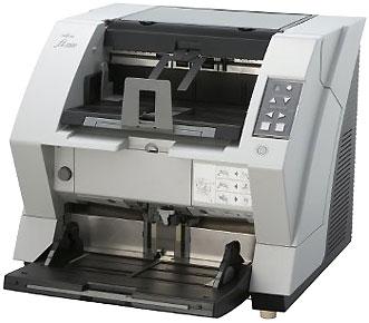 Промышленный протяжной сканер документов для массового ввода