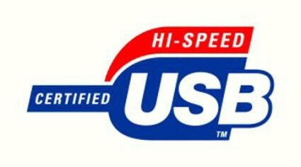 Логотип  Hi-speed USB
